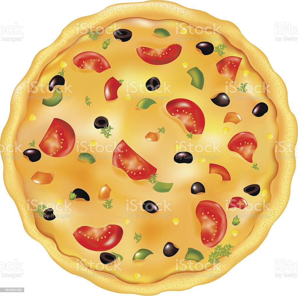 Italian Pizza royalty-free stock vector art