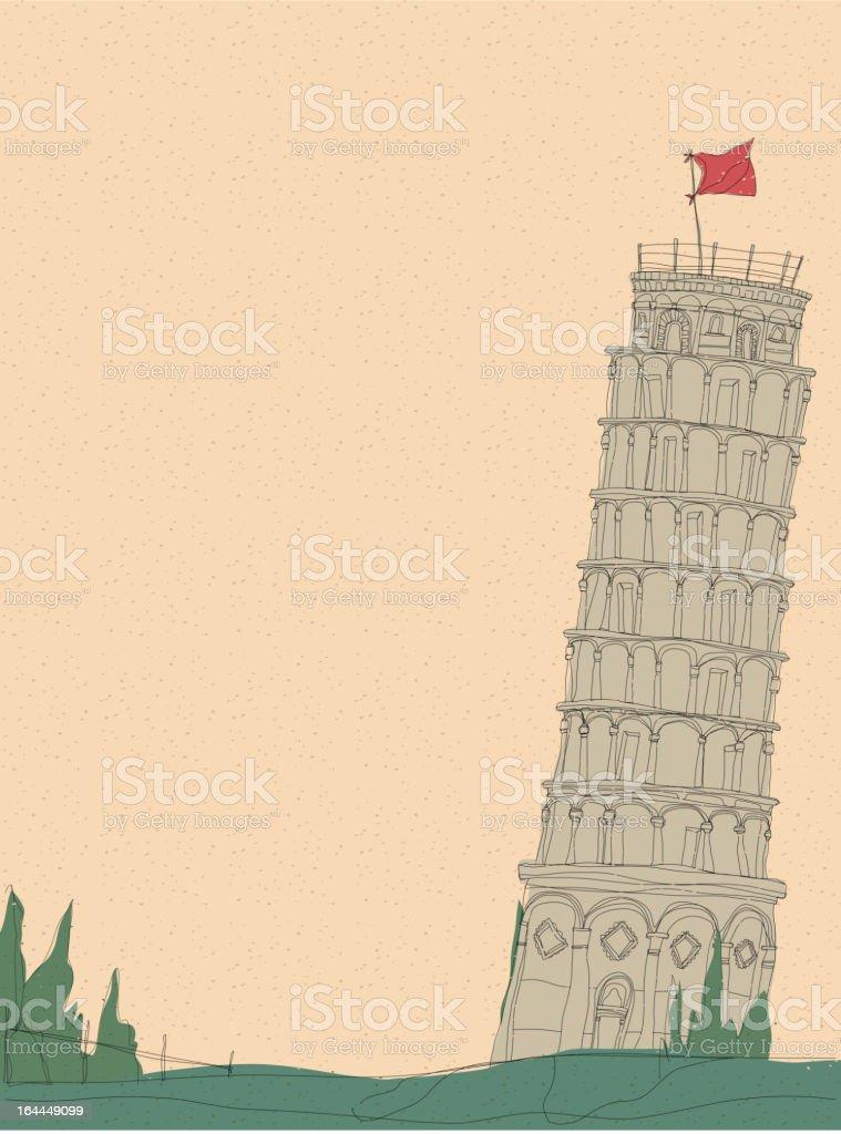 Italy travel royalty-free stock vector art