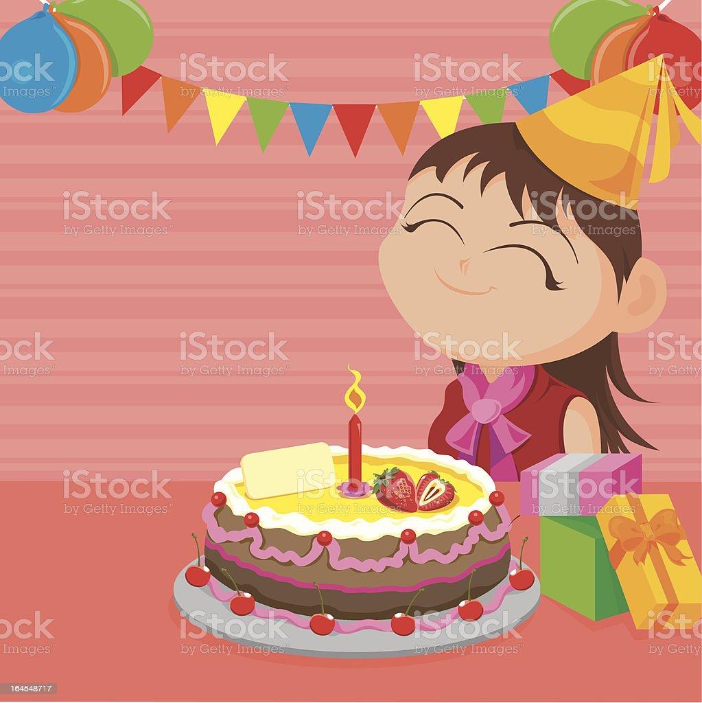 It's My Birthday! royalty-free stock vector art