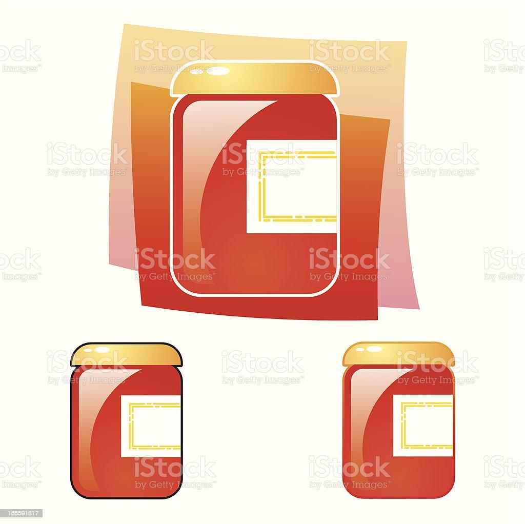 Jam vector art illustration