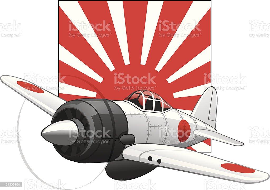 Japonais la deuxi me guerre mondiale sur un avion lever du - Porte avion japonais seconde guerre mondiale ...