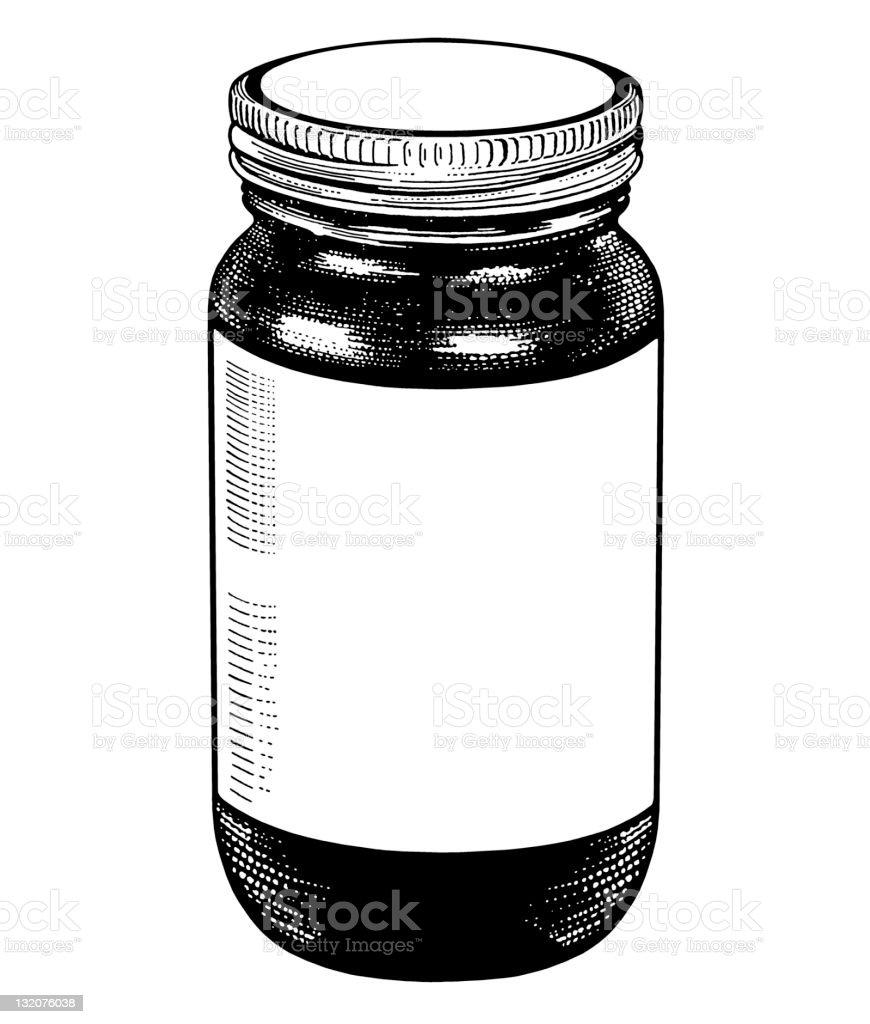 Jar royalty-free stock vector art