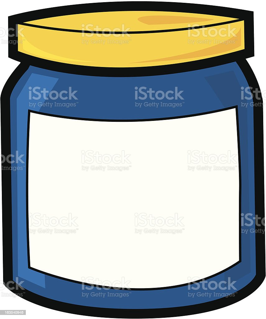 Jar royalty-free stock vector art