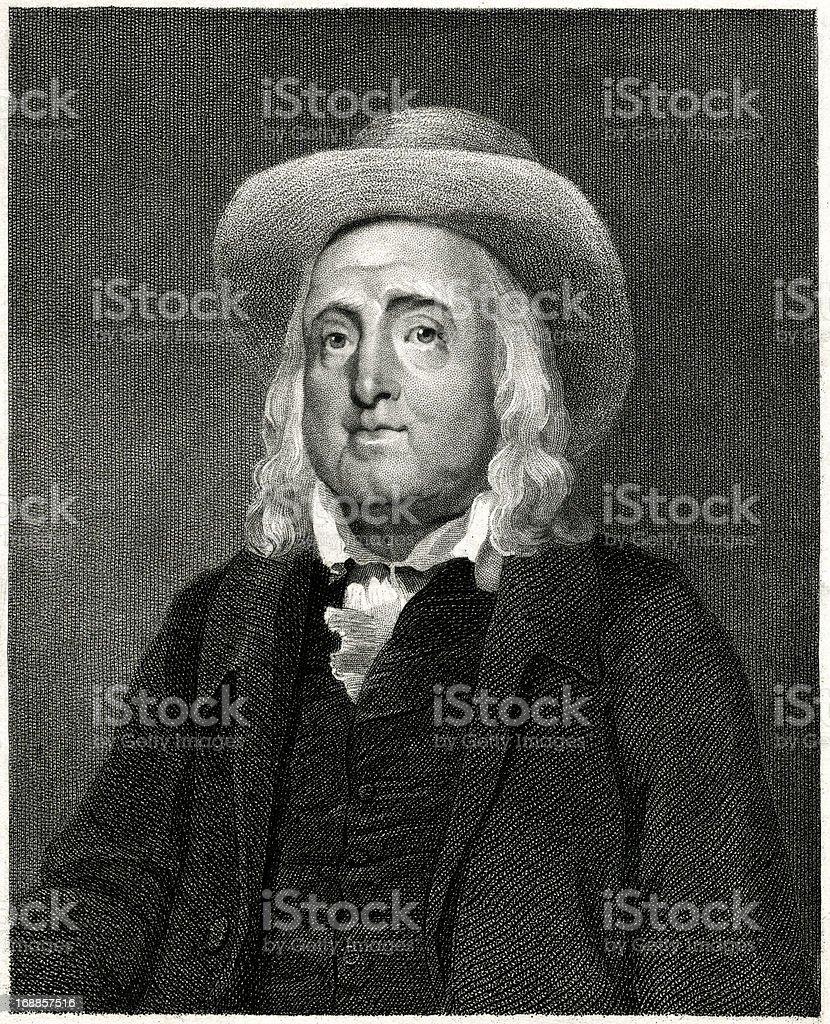 Jeremy Bentham royalty-free stock vector art