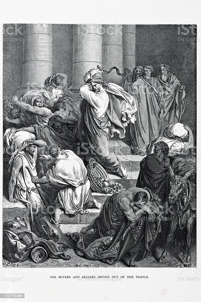 Jesus Christ royalty-free stock vector art