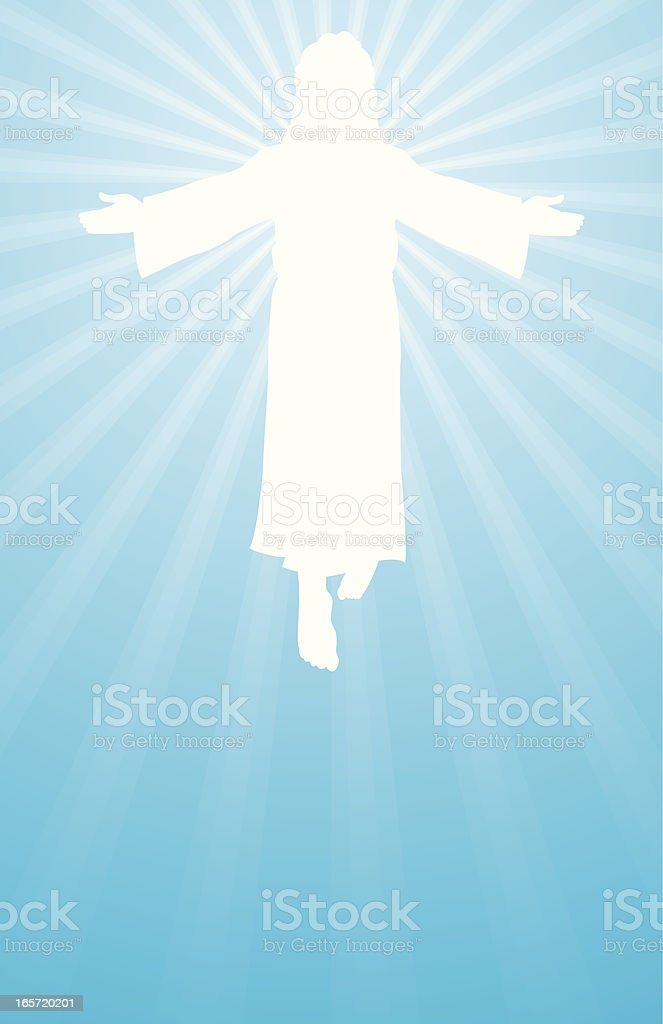 jesus is risen royalty-free stock vector art