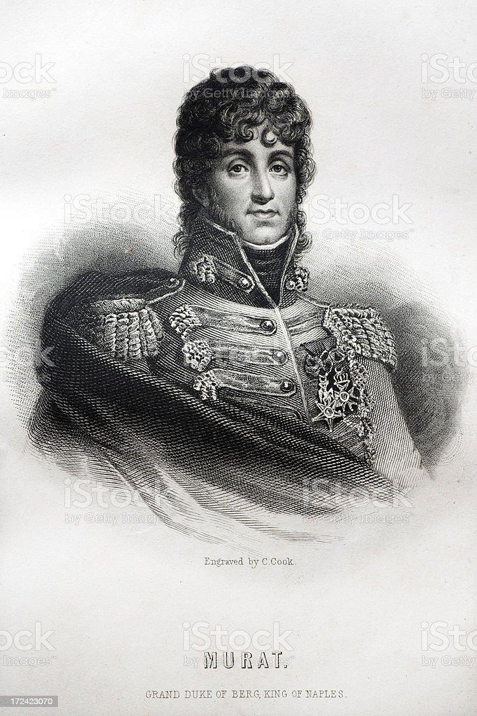 Joachim Murat royalty-free stock vector art
