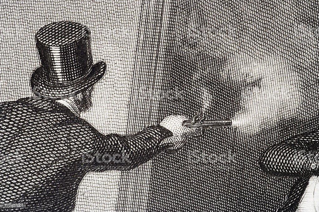 John Bellingham vector art illustration
