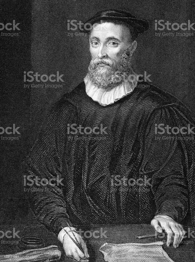 John Knox royalty-free stock vector art