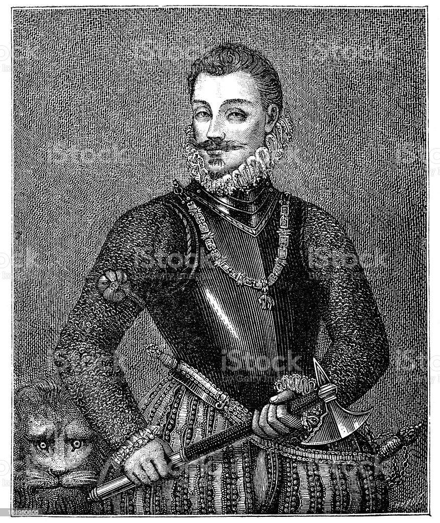 John of Austria vector art illustration