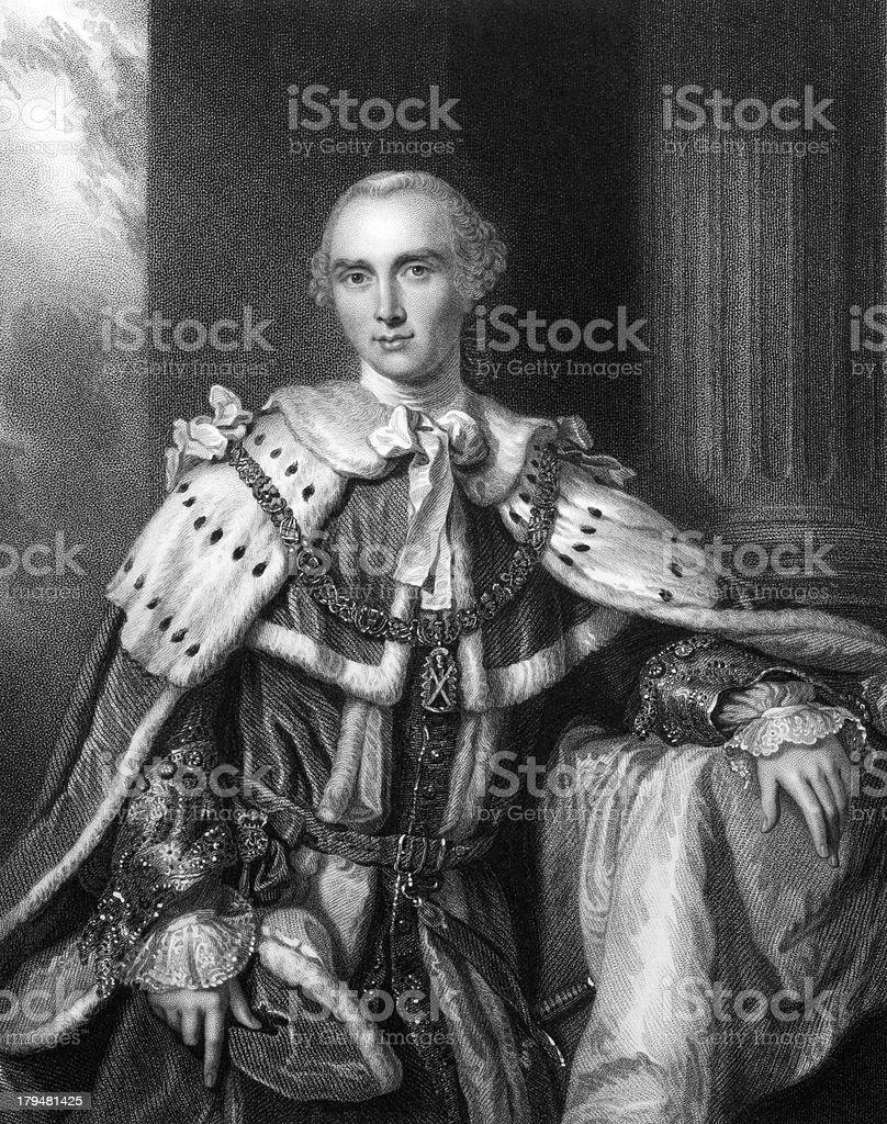 John Stuart, 3rd Earl of Bute royalty-free stock vector art