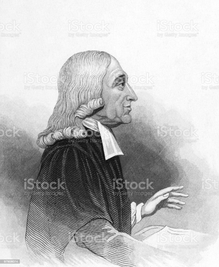 John Wesley vector art illustration