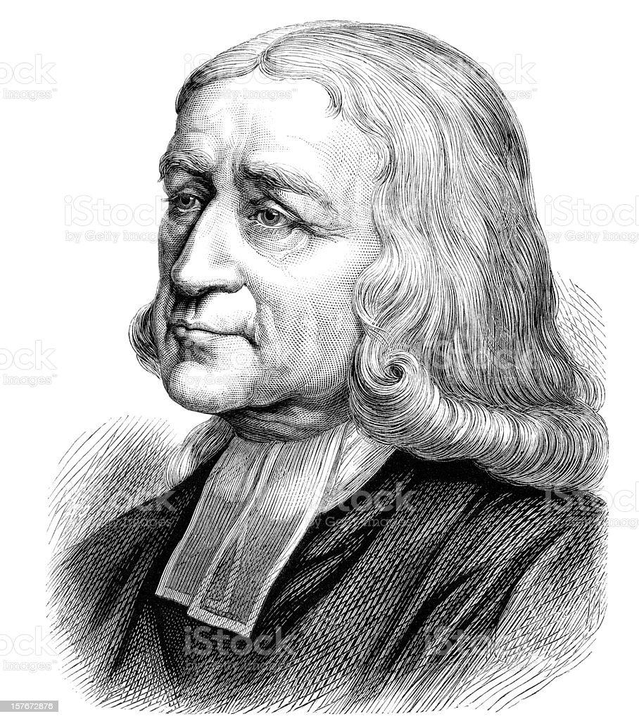 John Wesley - Victorian Illustration royalty-free stock vector art