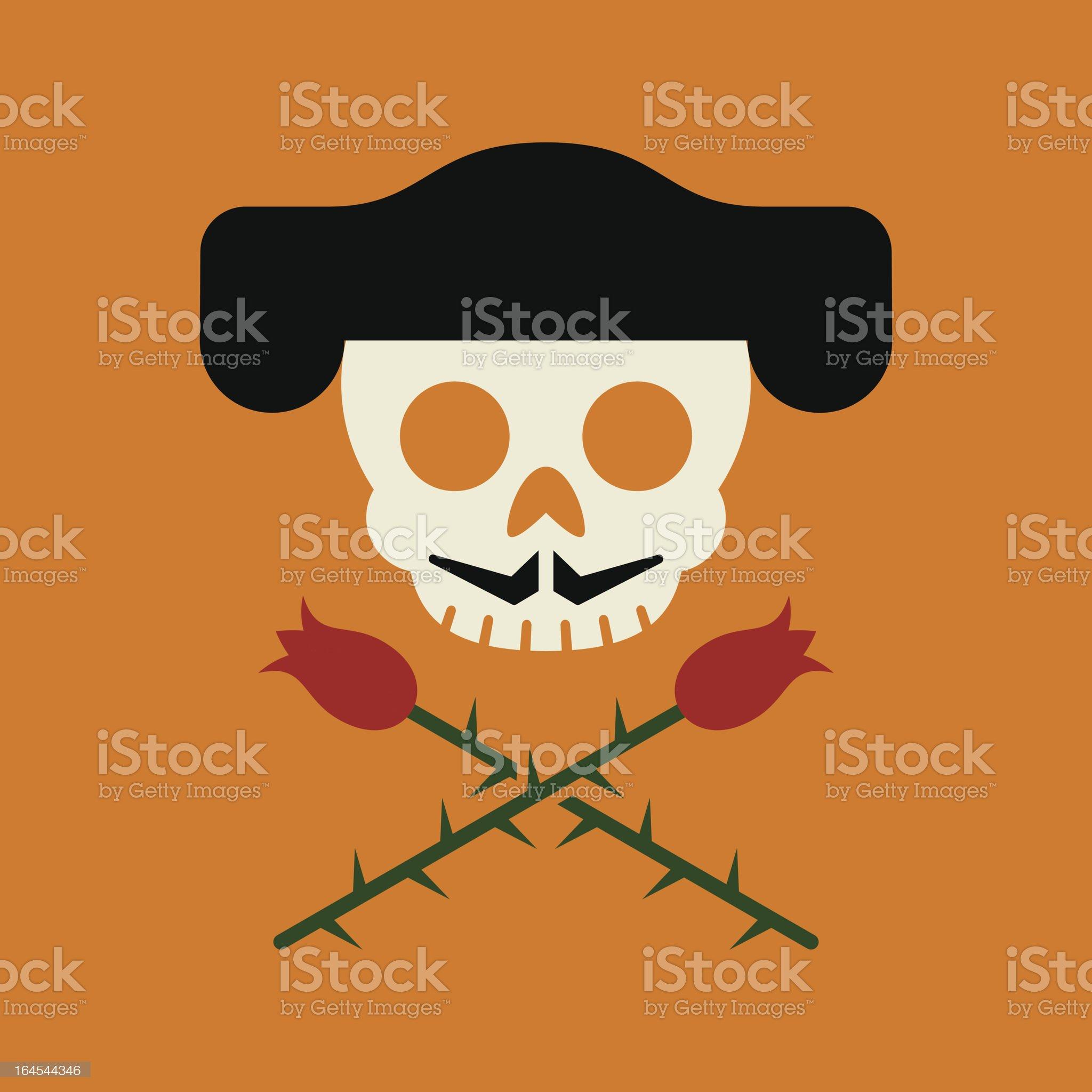Jolly Matador royalty-free stock vector art