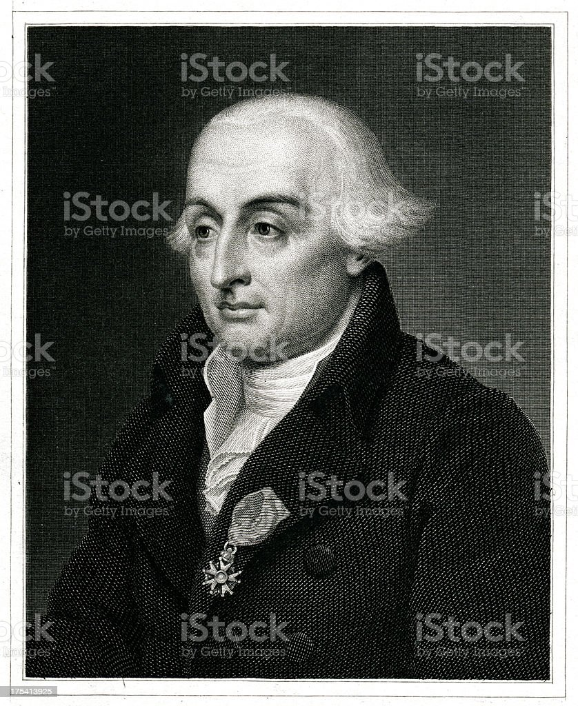 Joseph Louis Lagrange royalty-free stock vector art