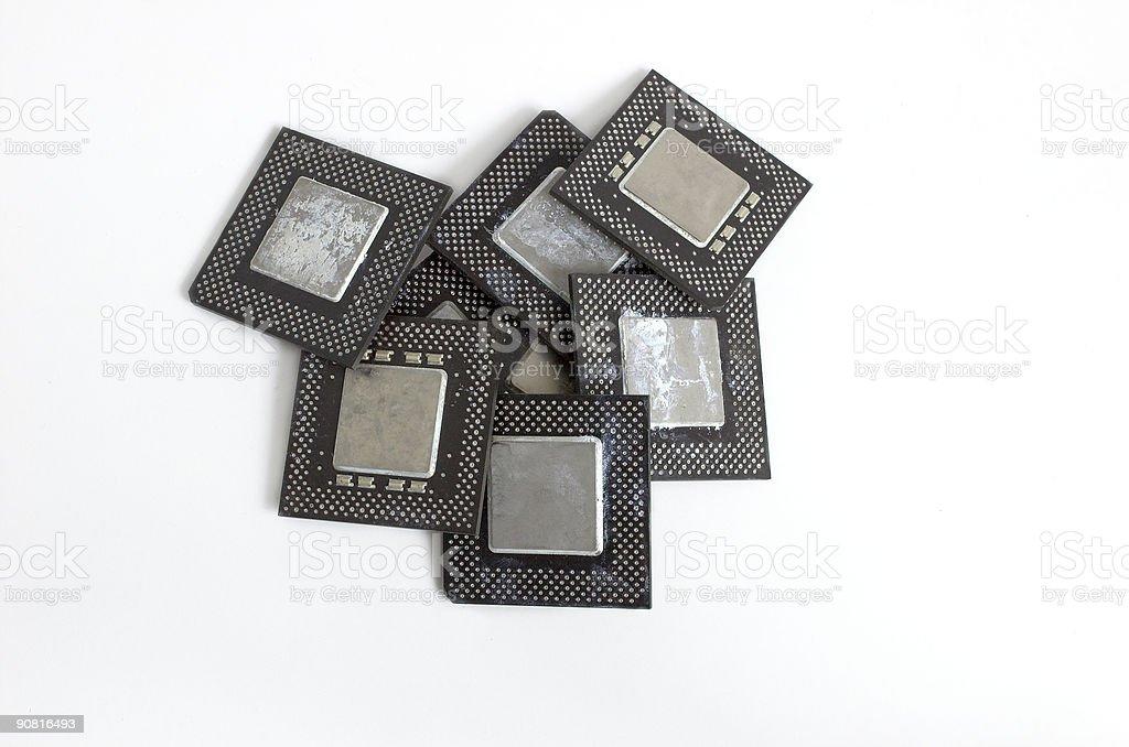 Junk processors vector art illustration