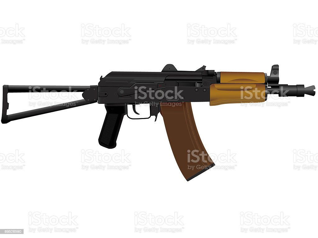 kalashnikov royalty-free stock vector art