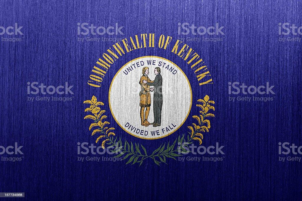 Kentucky Flag royalty-free stock vector art
