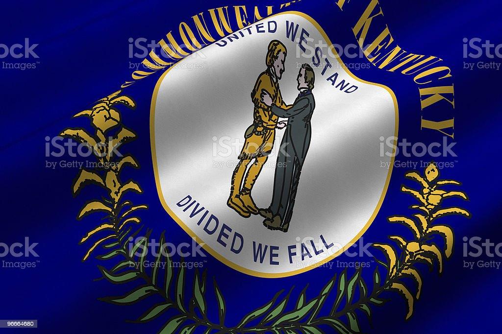 Kentucky Flag vector art illustration