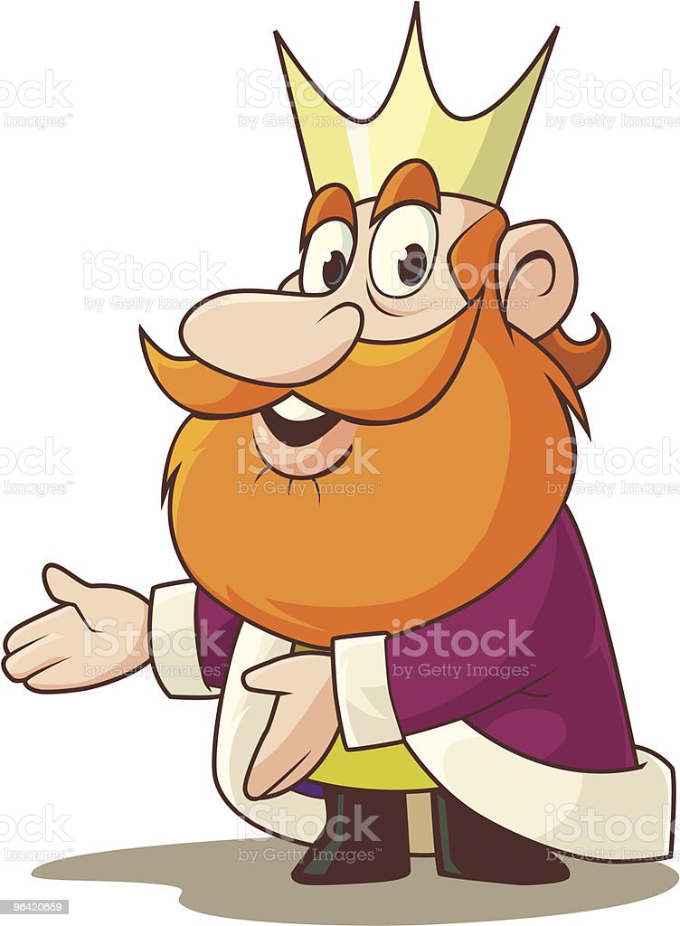 King Presents royalty-free stock vector art