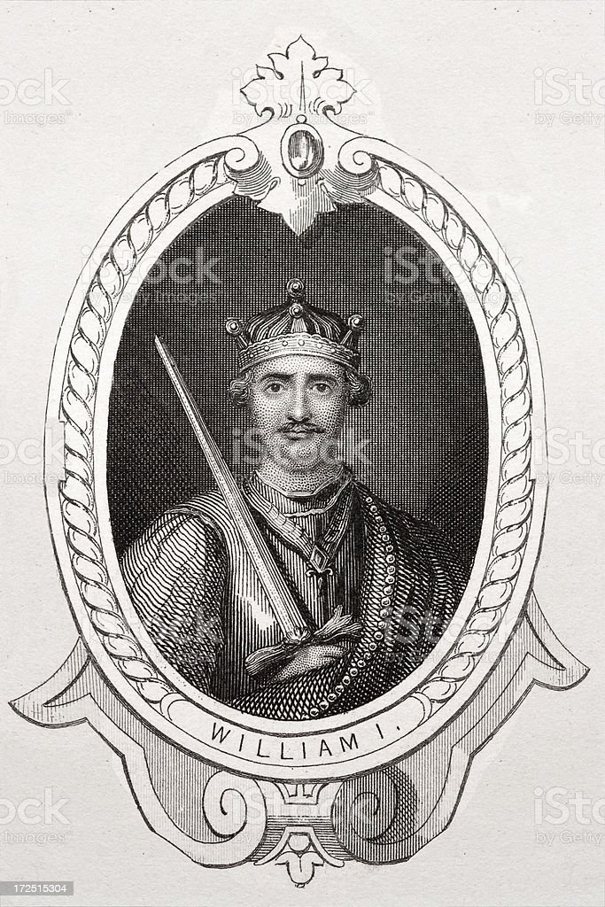 King William I royalty-free stock vector art