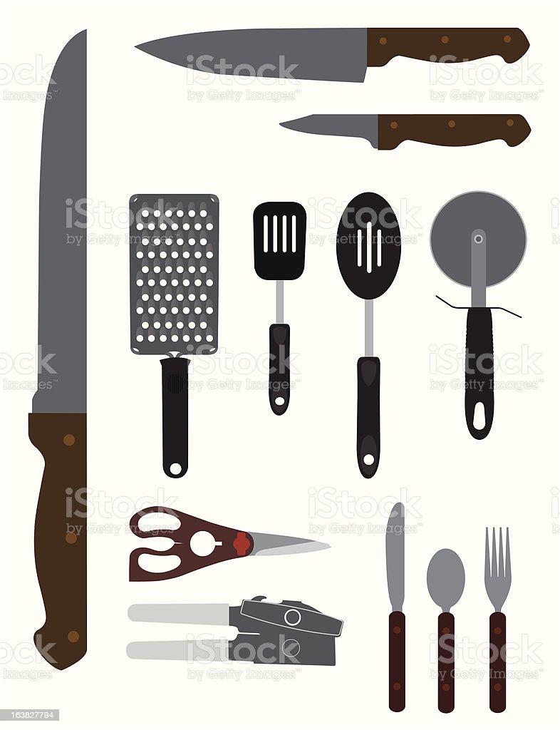 Kitchenware Illustration vector art illustration