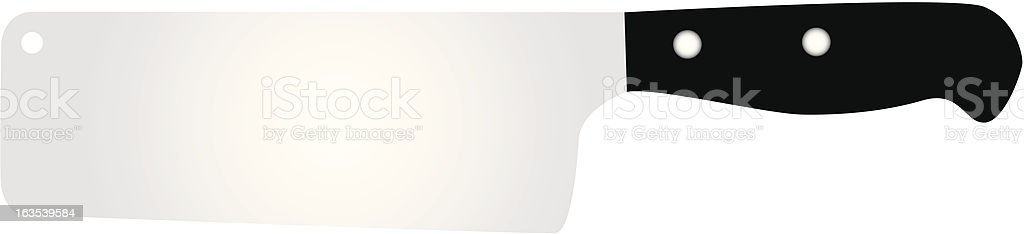 knife number 2 royalty-free stock vector art