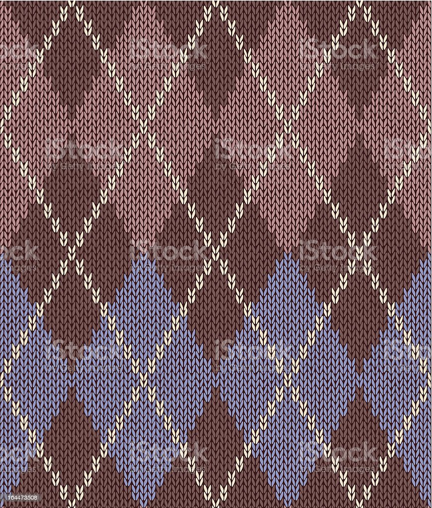 knitwear seamless vector graphic ornament royalty-free stock vector art