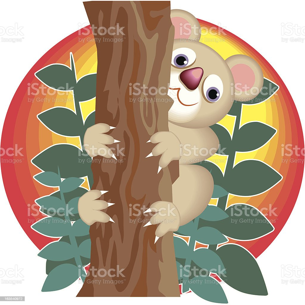 Koala Bear royalty-free stock vector art