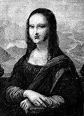 La Gioconda (Illustration copy)