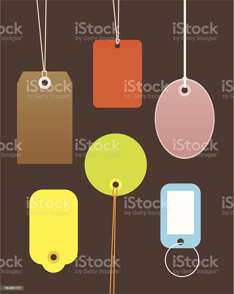 Label and Price Tags royalty-free stock vector art