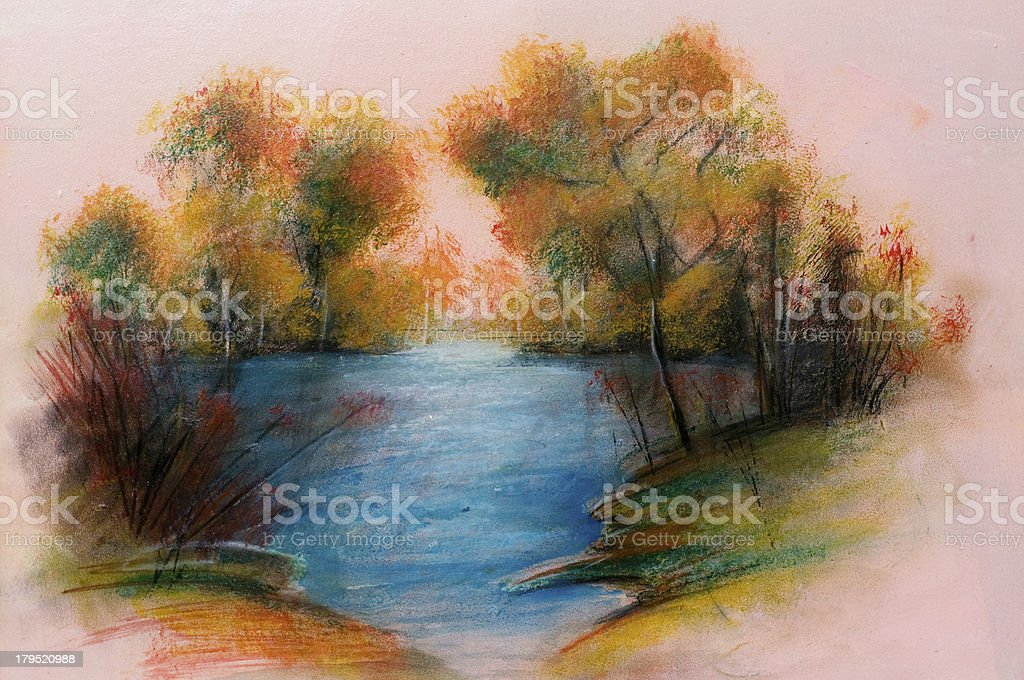 Landscapes, Art product royalty-free stock vector art