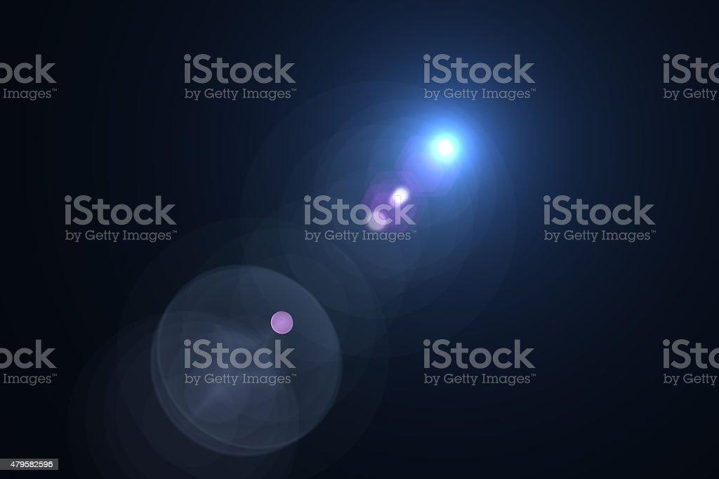 Effet de halo lumineux stock vecteur libres de droits libre de droits