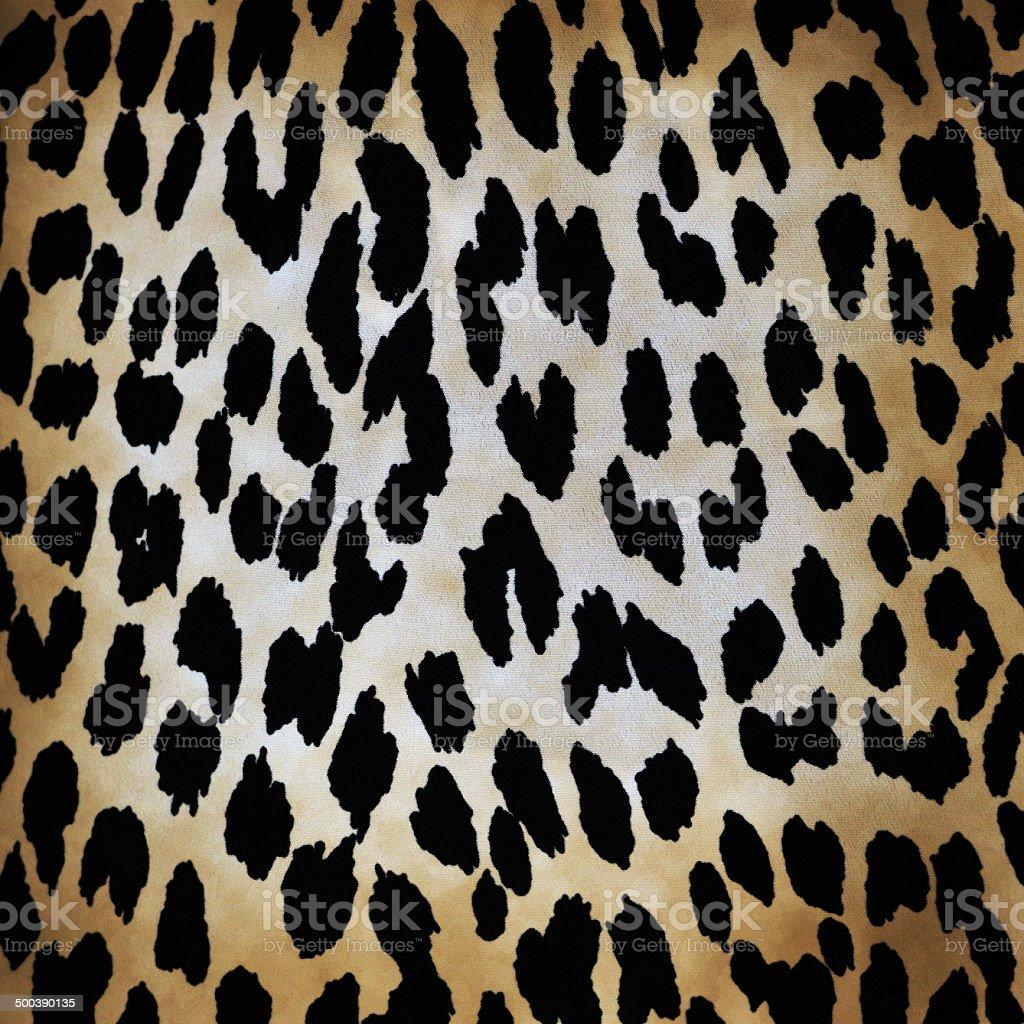 leopard pattern vector art illustration