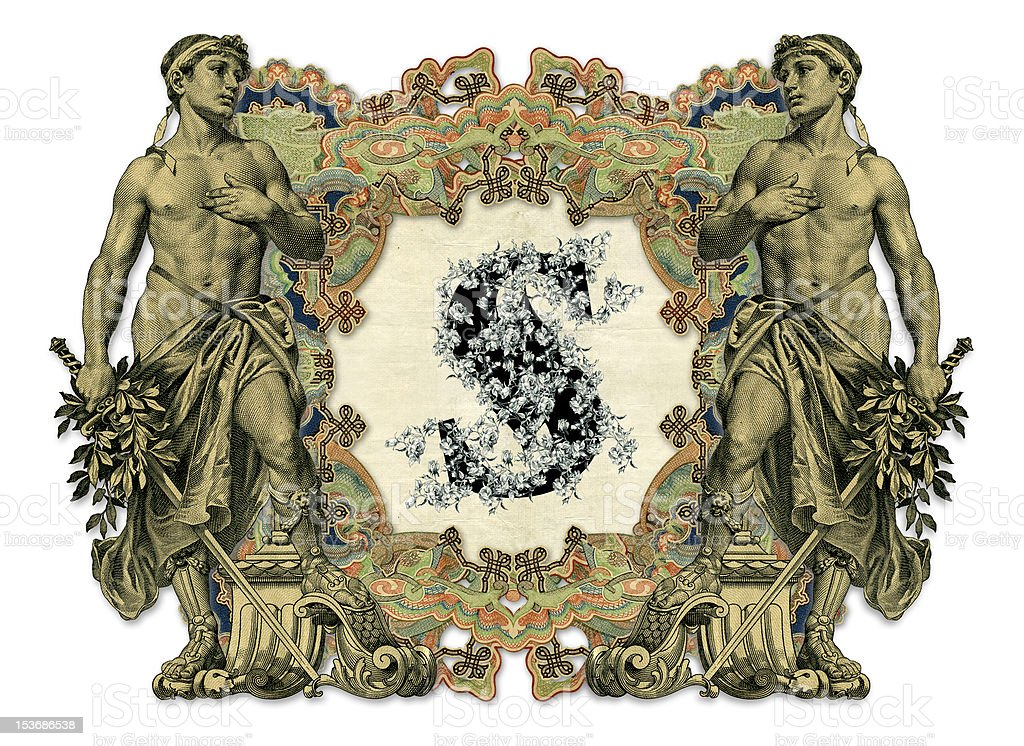 Letter S. royalty-free stock vector art