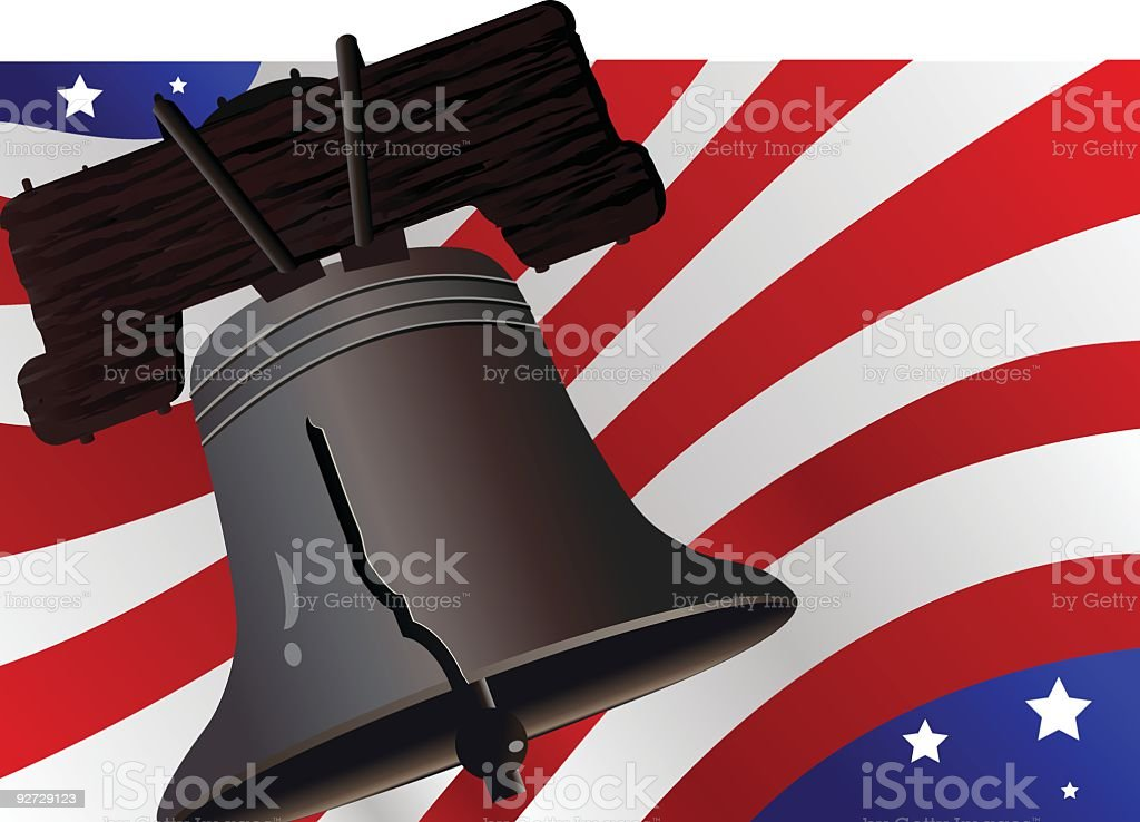 Liberty and Justice for All royalty-free stock vector art