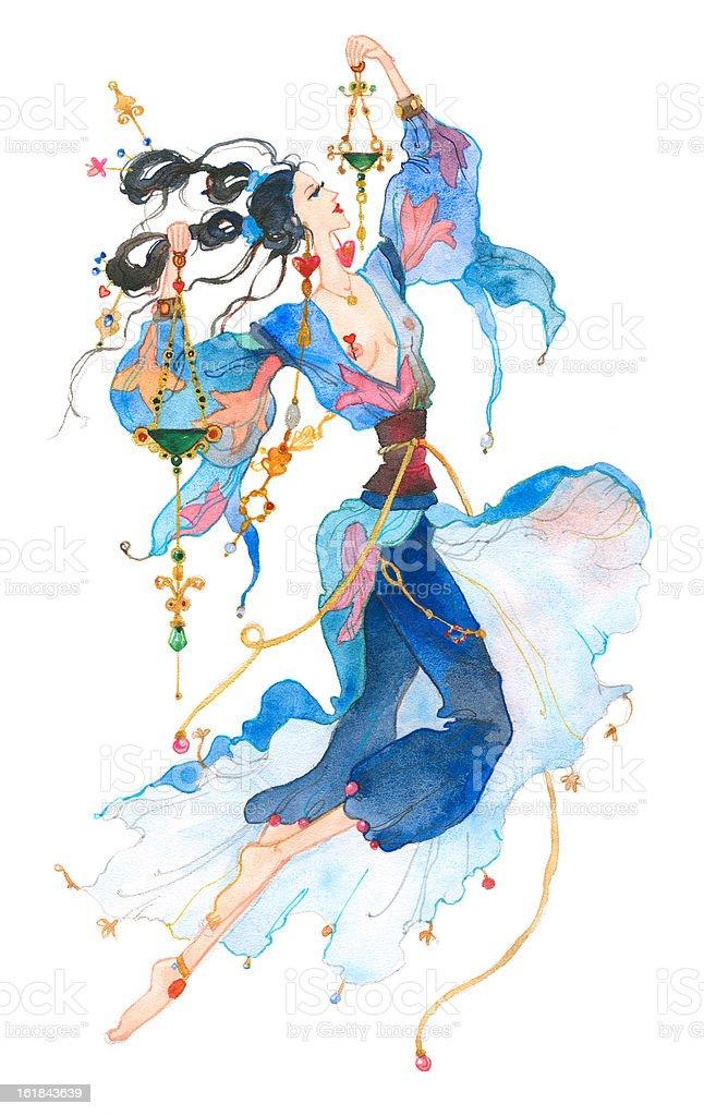 Libra. Astrology Sign. royalty-free stock vector art