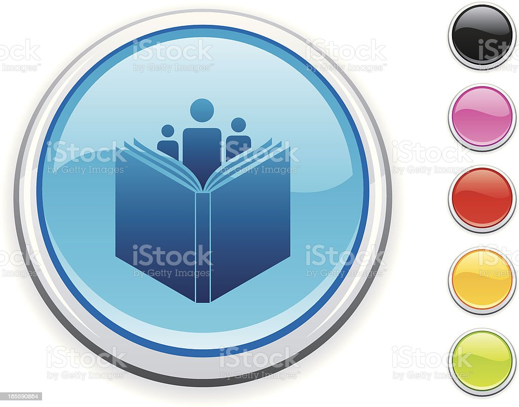 Library icon royalty-free stock vector art