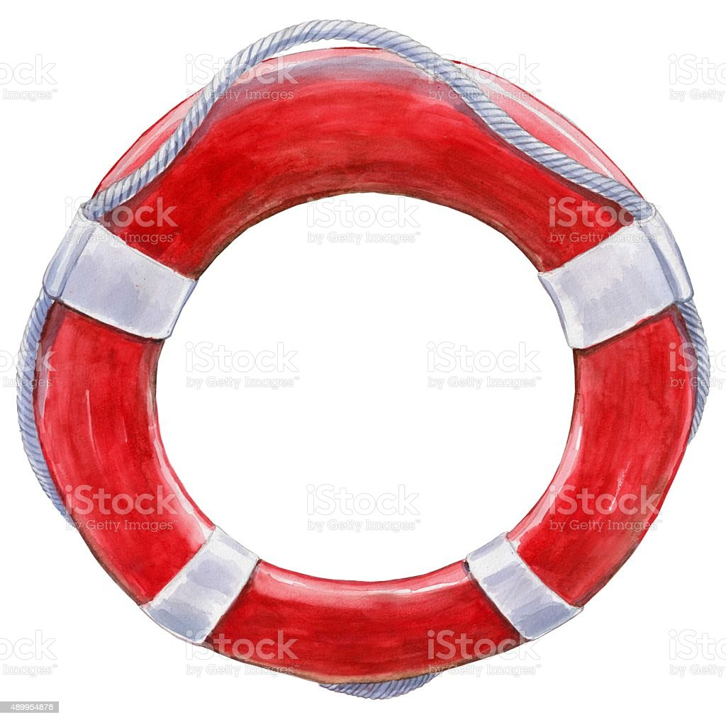 Lifebuoy royalty-free stock vector art