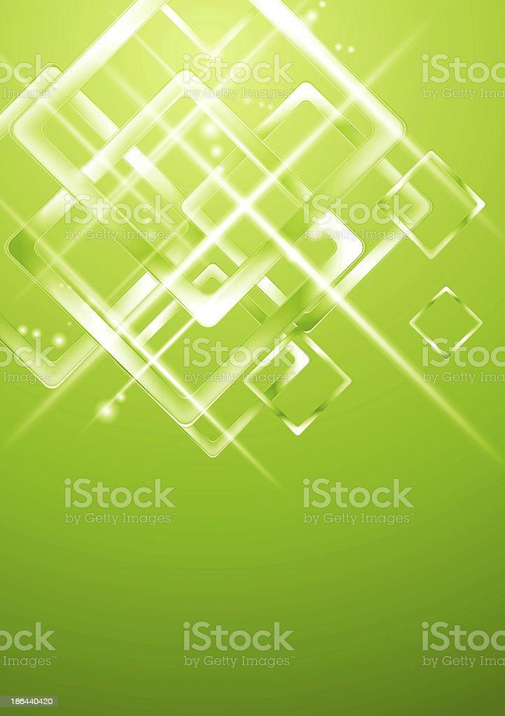 Light green geometrical design royalty-free stock vector art