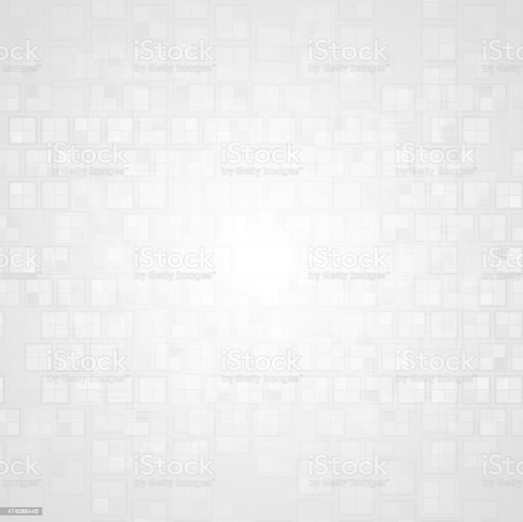 Light grunge tech background vector art illustration