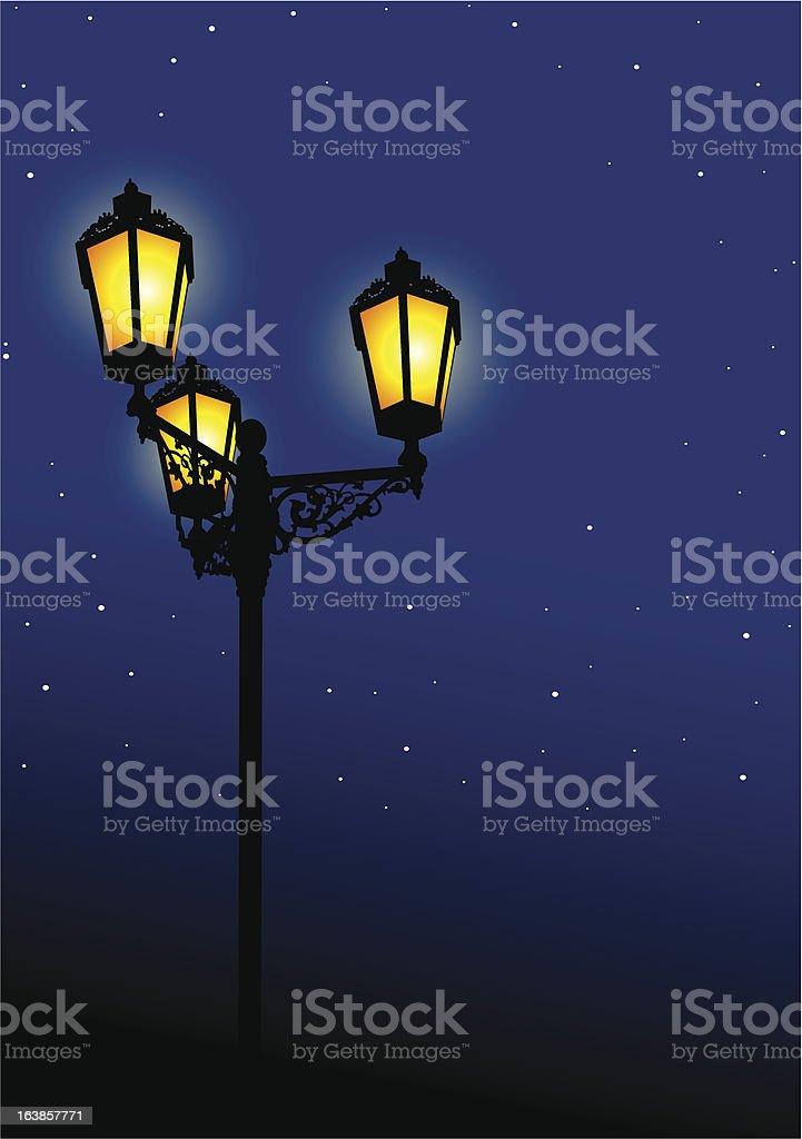 Light & Night royalty-free stock vector art