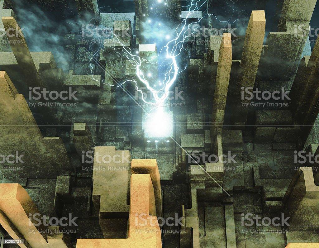 Light Of Faith royalty-free stock vector art