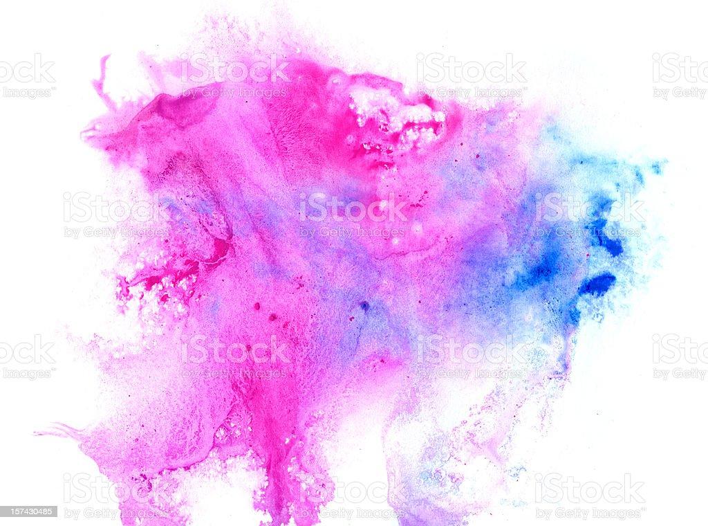 Lilac blot royalty-free stock vector art