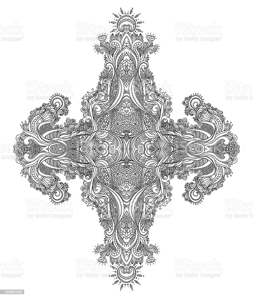 Line Art Design royalty-free stock vector art