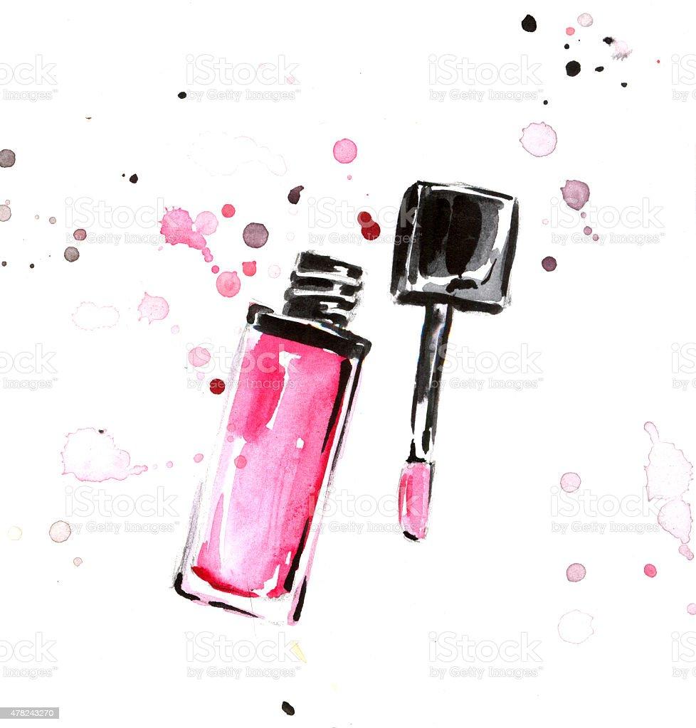 Lipstick royalty-free stock vector art