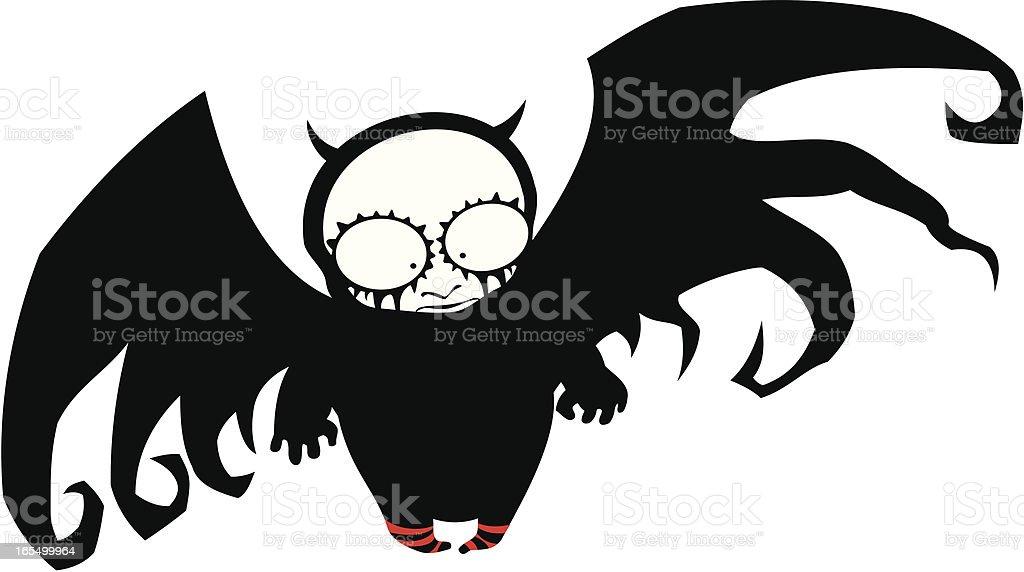 Little devil royalty-free stock vector art