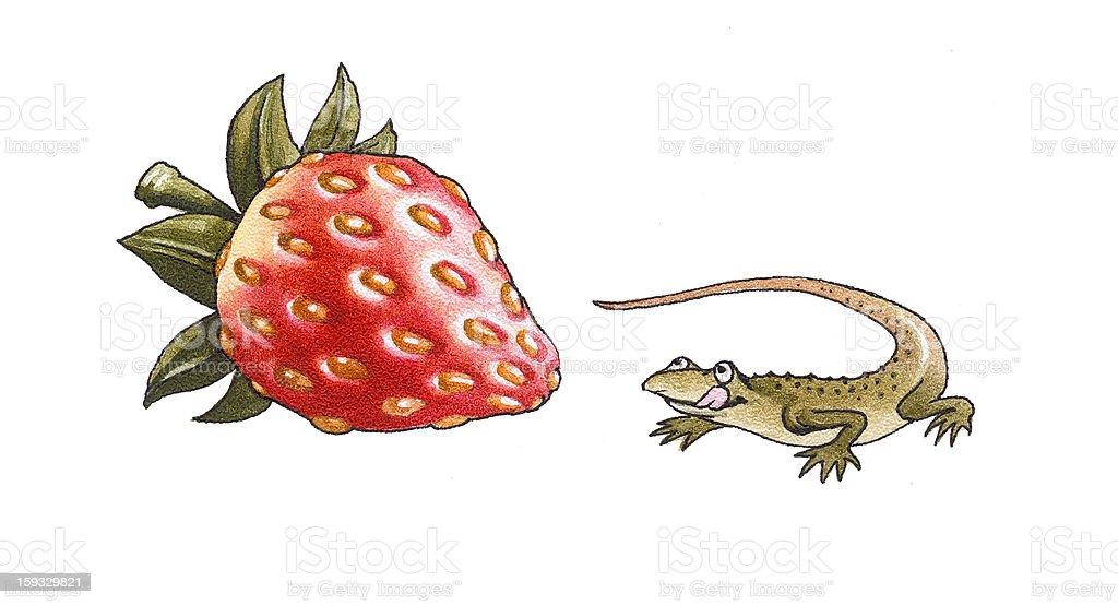 lizard royalty-free stock vector art