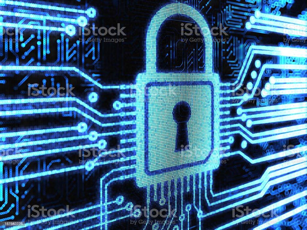 Lock background royalty-free stock vector art