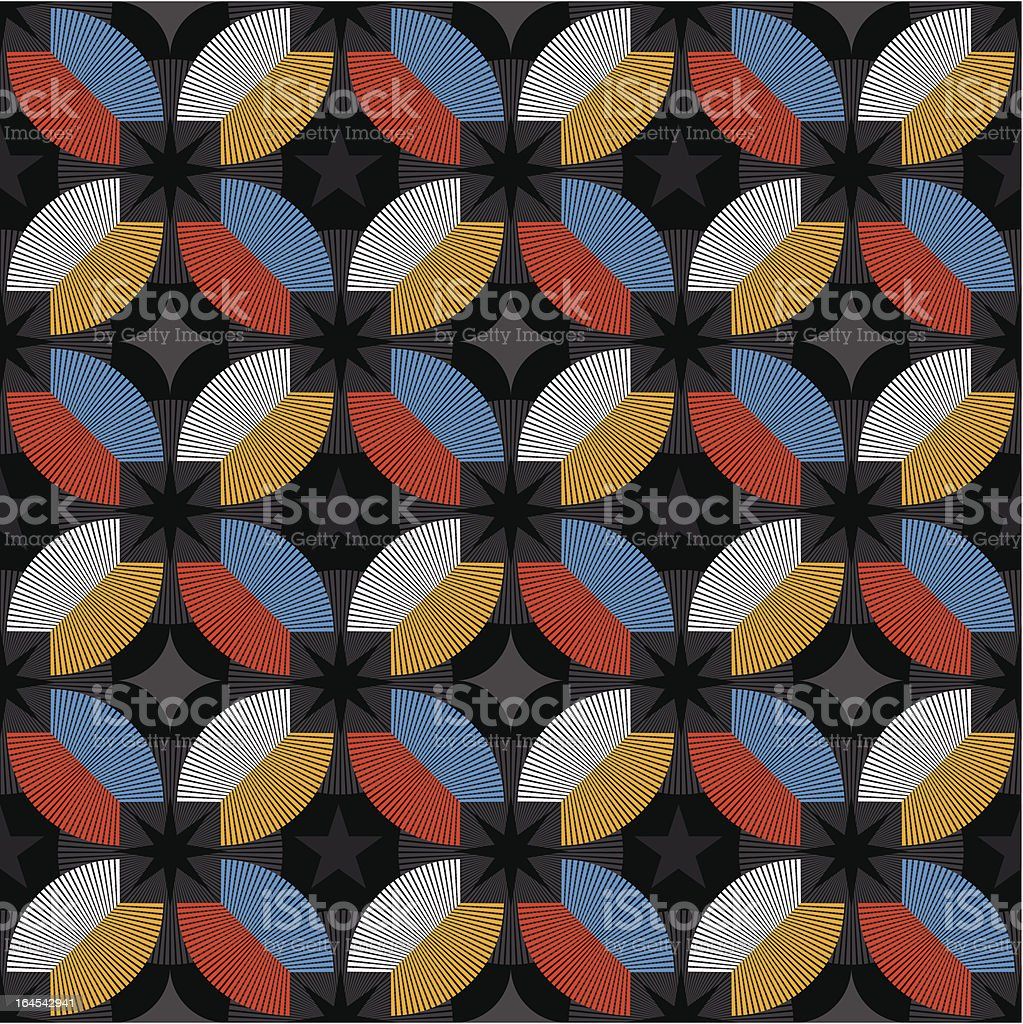 Loft No. 7 Pattern (Seamless) royalty-free stock vector art